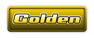 GIMPでGoldenロゴ作成